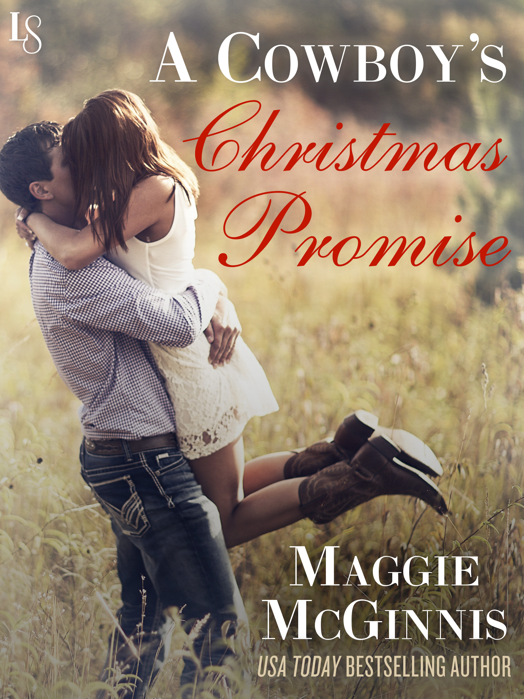 A Cowboy's Christmas Promise Cover